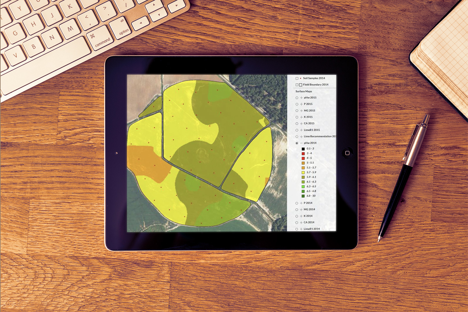 Tierra Plan | Agriculture Analysis Tool