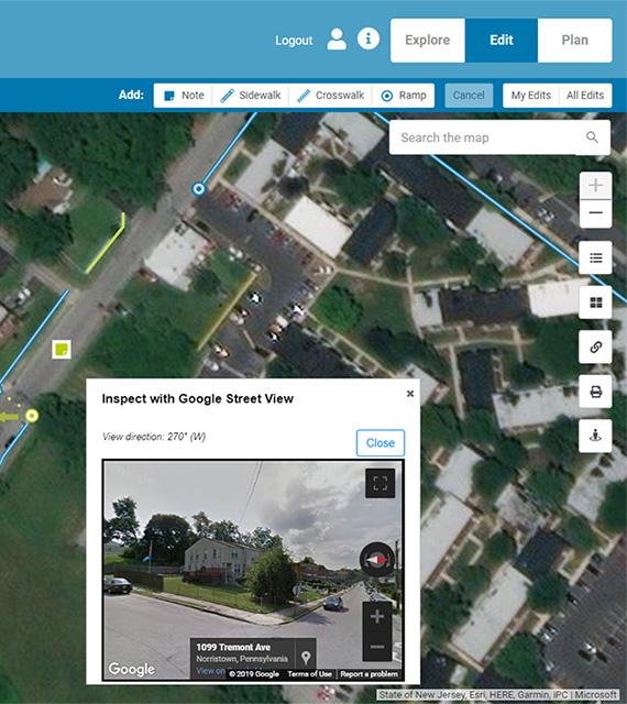 Pedestrian Planning Portal