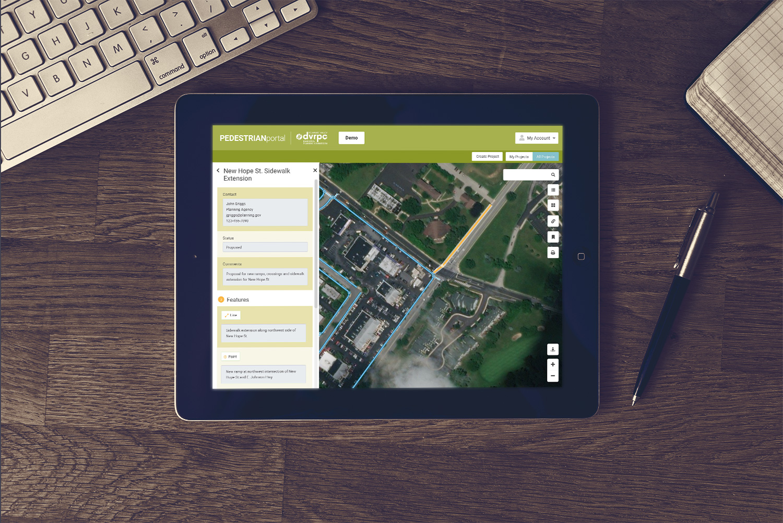 Tierra Plan | DVRPC Pedestrian Portal