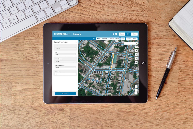 Tierra Plan | DVRPC Pedestrian Planning Tools