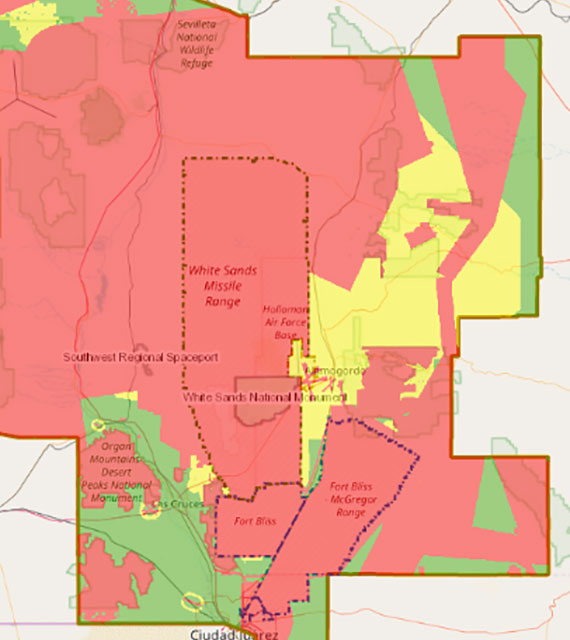 Southern New Mexico – El Paso, Texas Joint Land Use Study