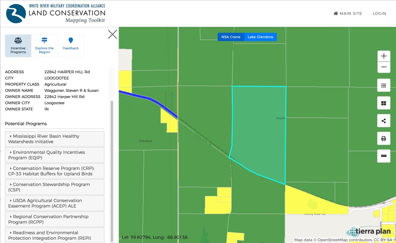 NSA Crane Land Conservation Toolkit by Tierra Plan